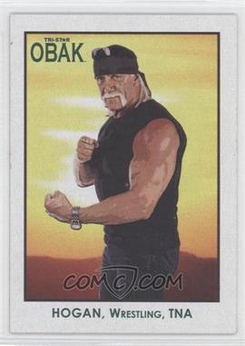 2010 TRISTAR Obak Green #106 - Hulk Hogan /25