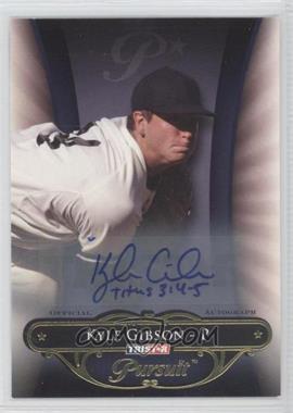 2010 TRISTAR Pursuit - [Base] - Autographs [Autographed] #91 - Kyle Gibson /80