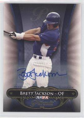 2010 TRISTAR Pursuit - [Base] - Autographs [Autographed] #95 - Brett Jackson /80