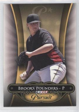 2010 TRISTAR Pursuit - [Base] - Gold #21 - Brooks Pounders /50
