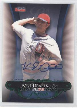 2010 TRISTAR Pursuit - [Base] - Green Autographs [Autographed] #141 - Kyle Drabek /25