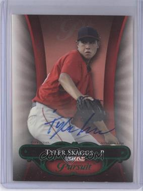 2010 TRISTAR Pursuit - [Base] - Green Autographs [Autographed] #16 - Tyler Skaggs /25
