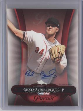 2010 TRISTAR Pursuit - [Base] - Red Autographs [Autographed] #17 - Brad Boxberger /5