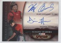 Koby Clemens, Donald Hume /5