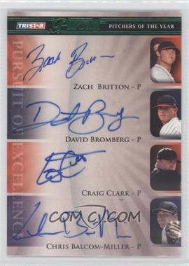 2010 TRISTAR Pursuit [???] #154 - Zach Braddock, Craig Clark, Chris Balcom-Miller /25