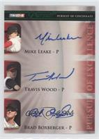 Mike Leake, Travis Wood, Bret Boone /25