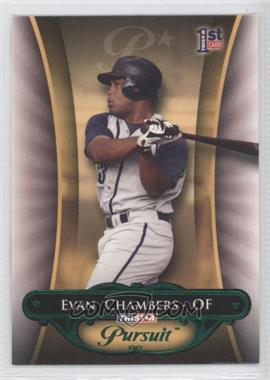 2010 TRISTAR Pursuit Green Autographs [Autographed] #113 - Evan Chambers /25