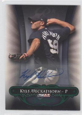 2010 TRISTAR Pursuit Green Autographs [Autographed] #18 - Kyle Heckathorn /25