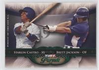 Starlin Castro, Brett Jackson /25