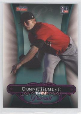2010 TRISTAR Pursuit Purple #57 - Donald Hume /1
