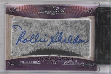 2010 TRISTAR Signa Cuts Cut Autographs Silver #N/A - Robert Shields /25