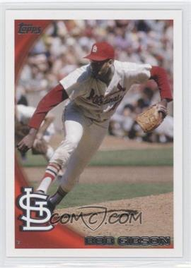 2010 Topps - [Base] #661.7 - Bob Gibson (Legend)