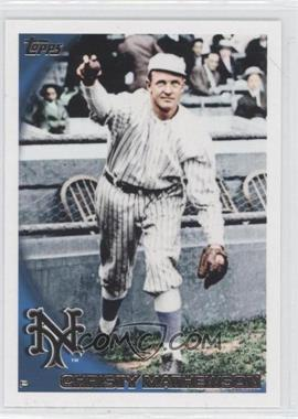2010 Topps - [Base] #80.2 - Christy Mathewson (Legend)