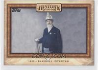 Baseball Invented (Alexander Cartwright)