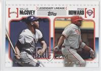 Willie McCovey, Ryan Howard