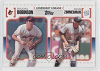 Brooks Robinson, Ryan Zimmerman
