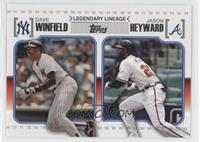 Jason Heyward, Dave Winfield