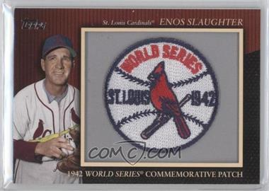 2010 Topps - Manufactured Commemorative Patch #MCP110 - Enos Slaughter