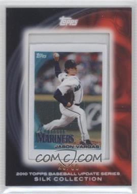 2010 Topps - Silk Collection #JAVA - Jason Vargas /50
