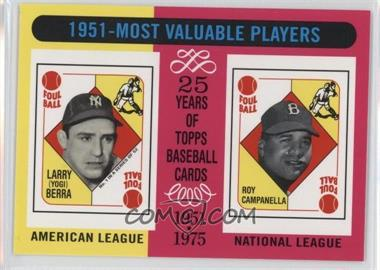 2010 Topps - The Cards Your Mom Threw Out - Original Back #189 - Yogi Berra, Roy Campanella