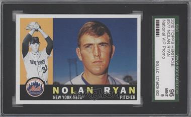 2010 Topps 1960 Design - National Convention [Base] #577 - Nolan Ryan [SGC96]