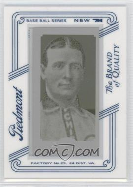 2010 Topps 206 - [Base] - Printing Plate Mini Yellow Piedmont Framed #233 - Frank Chance /1