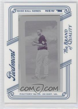 2010 Topps 206 Printing Plate Mini Magenta Piedmont Framed #169 - Michael Bourn /1