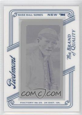 2010 Topps 206 Printing Plate Mini Magenta Piedmont Framed #277 - Johnny Evers /1