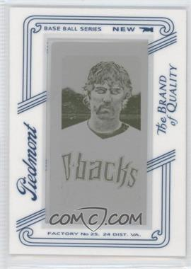 2010 Topps 206 Printing Plate Mini Yellow Piedmont Framed #36 - Mark Reynolds /1