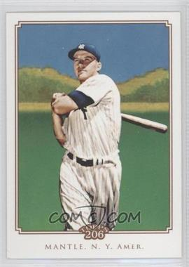 2010 Topps 206 #206 - Mickey Mantle