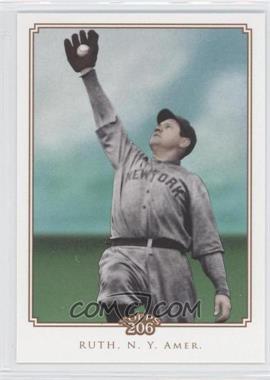 2010 Topps 206 #N/A - Babe Ruth