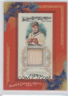 2010 Topps Allen & Ginter's Framed Mini Relics #AGR-MCB - Melky Cabrera