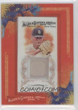 2010 Topps Allen & Ginter's Framed Mini Relics #AGR-ML - Matt Latos