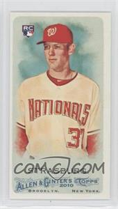 2010 Topps Allen & Ginter's Minis Rip Card High Numbers #401 - Stephen Strasburg