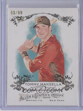2010 Topps Allen & Ginter's Rip Cards #RIP-RC74 - Tommy Manzella /99