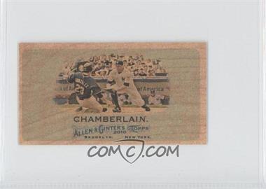 2010 Topps Allen & Ginter's Wood Mini #32 - Joba Chamberlain /1