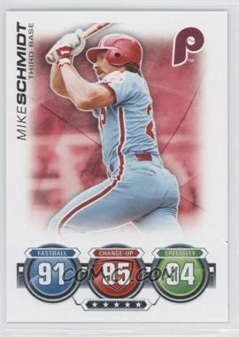 2010 Topps Attax - Battle of the Ages #MISC - Mike Schmidt