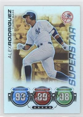 2010 Topps Attax Battle of the Ages Foil #ALRO - Superstar - Alex Rodriguez