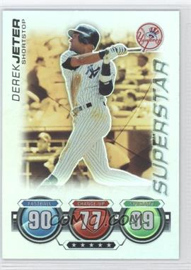 2010 Topps Attax Battle of the Ages Foil #DEJE - Superstar - Derek Jeter