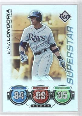 2010 Topps Attax Battle of the Ages Foil #EVLO - Superstar - Evan Longoria