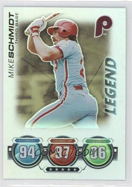 2010 Topps Attax Battle of the Ages Foil #MISC - Legend - Mike Schmidt