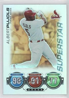 2010 Topps Attax Battle of the Ages Foil #N/A - Albert Pujols