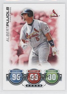 2010 Topps Attax Battle of the Ages #ALPU - Albert Pujols