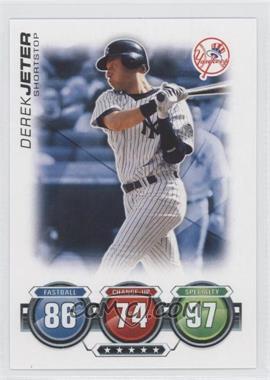 2010 Topps Attax Battle of the Ages #N/A - Derek Jeter