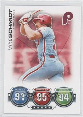 2010 Topps Attax Battle of the Ages #N/A - Mike Schmidt