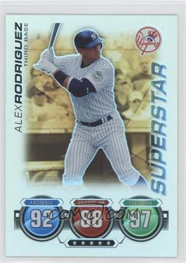 2010 Topps Attax Gold Foil #ALRO - Alex Rodriguez