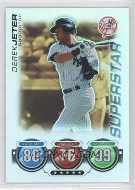 2010 Topps Attax Gold Foil #DEJE - Derek Jeter