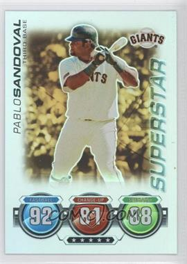 2010 Topps Attax Gold Foil #N/A - Pablo Sandoval