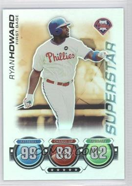 2010 Topps Attax Gold Foil #N/A - Ryan Howard