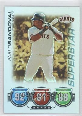 2010 Topps Attax Gold Foil #PASA - Pablo Sandoval